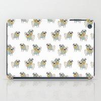 pugs iPad Cases featuring Pugs by Ann Rubin