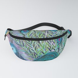 Tail of the Peacock Fanny Pack