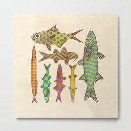 Freshwater Freaks Metal Print