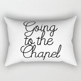 Going to the Chapel Rectangular Pillow