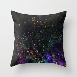 bokeh explosion Throw Pillow