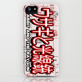 FullMetal Rabbit iPhone Case