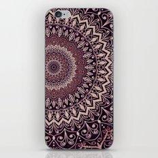MARSALA MANDALA iPhone & iPod Skin