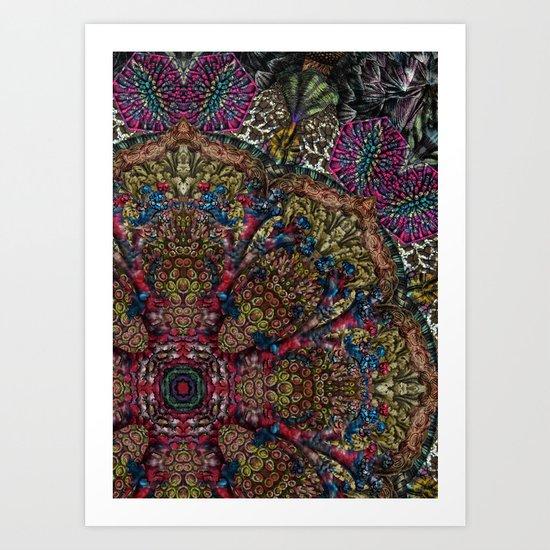 Psychedelic Botanical 9 Art Print