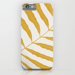 Yellow Plant iPhone Case