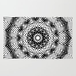 graphic star Rug