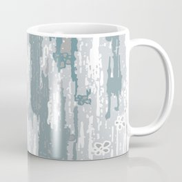 Blue Grey abstract. .minimalist. line. minimalism. lines. Coffee Mug