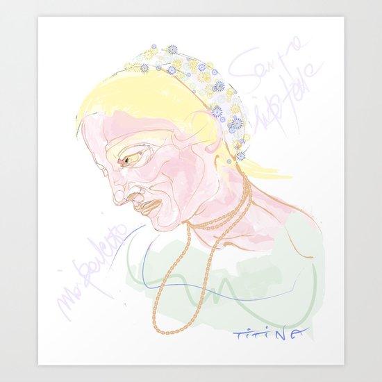 Titina Art Print