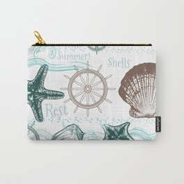 Sea shells love Carry-All Pouch