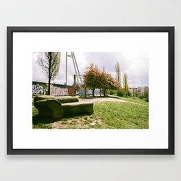 Mauerpark Afternoon - Berlin Framed Art Print