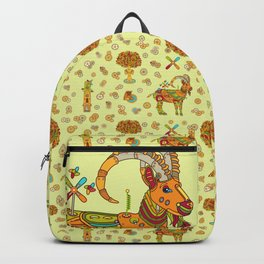 Ibex, cool wall art for kids and adults alike Backpack