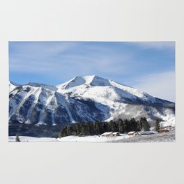 Colorado's Red Lady Mountain Rug