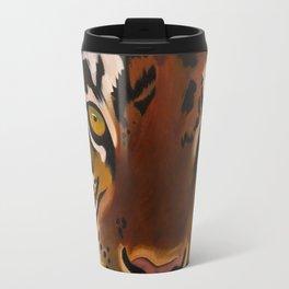 Bengal Tiger Portrait Travel Mug