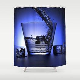 Waterglas Shower Curtain