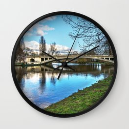 Reading Bridge Wall Clock