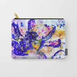 Shattered Blues Carry-All Pouch