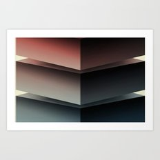 Color Cube Art Print