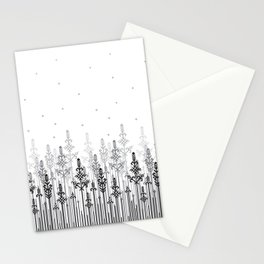 White field Stationery Cards
