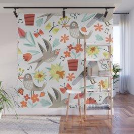 Spring Songs Wall Mural