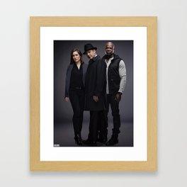 Army of Three. Framed Art Print