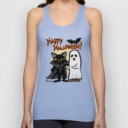 Halloween with you Unisex Tank Top