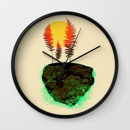 Nature Anthem Wall Clock