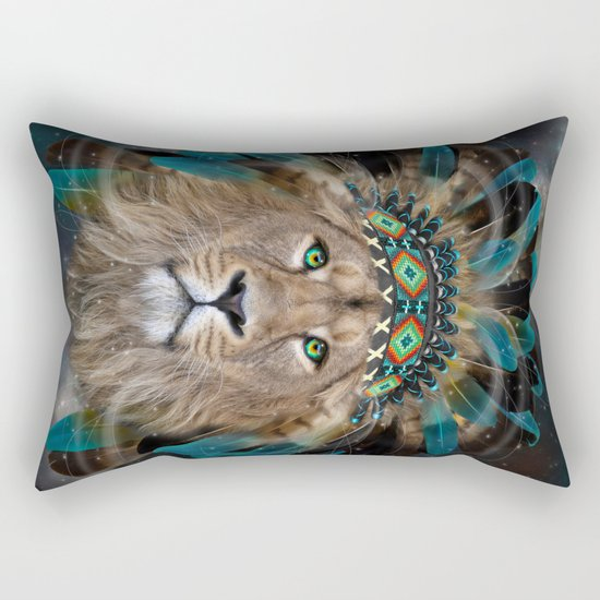 Fight For What You Love (Chief of Dreams: Lion) Tribe Series Rectangular Pillow