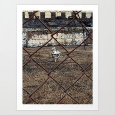 The Silver Hobby Horse 4 Art Print