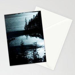 Moonlit Lake Stationery Cards