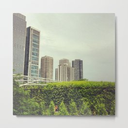 Millennium Park (Chicago, Illinois) Metal Print