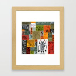 ROBOTHUMAN Framed Art Print