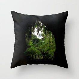 green view Throw Pillow