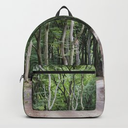 trees in national park in holland Backpack