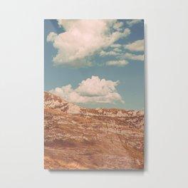 Mountain Skies Metal Print