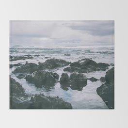 Oregon Coast XI Throw Blanket