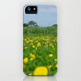 Flowers nature costa rica wild iPhone Case