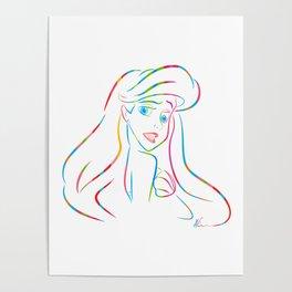 Ariel | Pop Art Poster