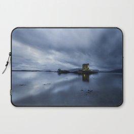 Scotland Dusk at Castle Stalker Laptop Sleeve