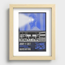 Brighter Days / Frits Wentink Recessed Framed Print