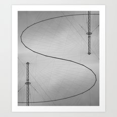 Signal Received Art Print