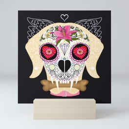 Day of the Dead Pet Mini Art Print