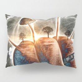 Mt. Shroom Pillow Sham