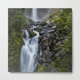 Waterfall. Metal Print