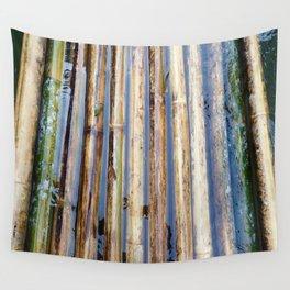 Bamboo Raft Wall Tapestry