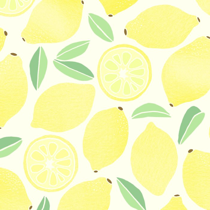 Summer Lemons Leggings