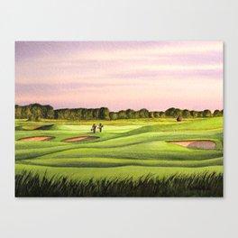 Royal Saint Georges Golf Course 9th Hole Canvas Print