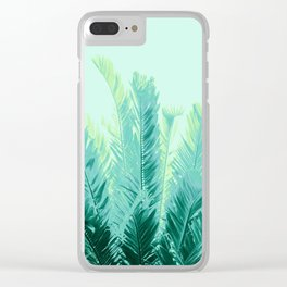 Tropical Leaves Dream #1 #tropical #decor #art #society6 Clear iPhone Case