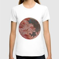 leah flores T-shirts featuring Flores by MACACOSS
