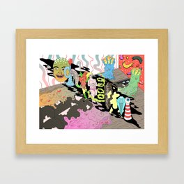 naked lunch Framed Art Print
