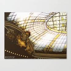 Beneath the rotunda Canvas Print